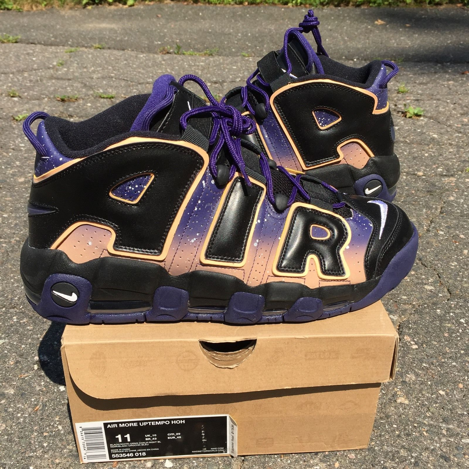 new product 61644 4961f Air More Uptempo HOH Dusk to Dawn Nike Pippen Jordan House of Hoops  Deadstock 11 | eBay #fugly | THE UGLY | Pinterest | Dawn and eBay