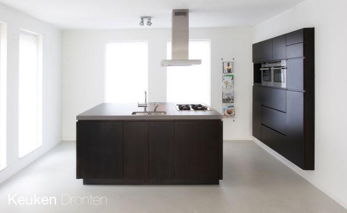 Rustieke Woonkeuken Gietvloer : Gietvloer in keuken in woning te dronten woningen projecten