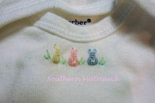 bullion knot bunnies!  The bunnies are from A-Z of Bullions.