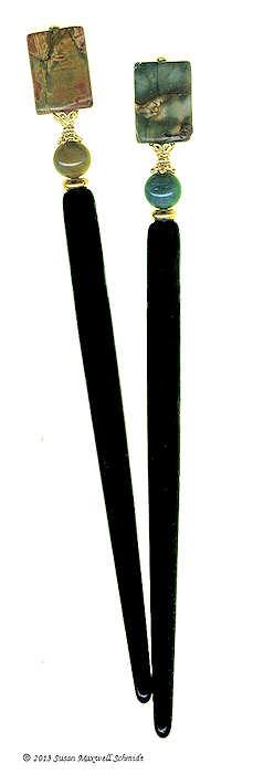 One-of-a-Kind Special Edition Original LongLocks HairSticks only at LongLocks HairSticks Boutique: longlocks.com