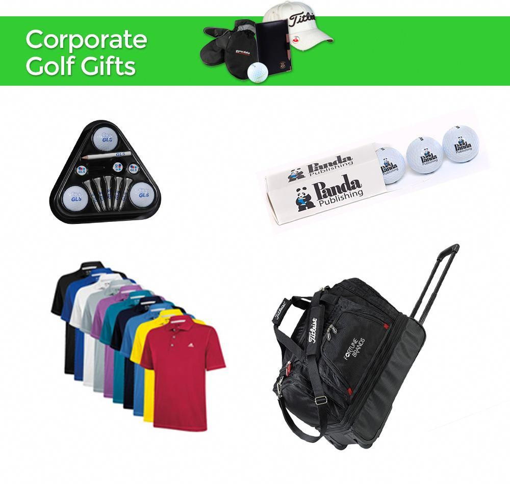 Corporate Golf Gifts | Shop promotional golf items and promotional golf gifts on our website #golfwebsites