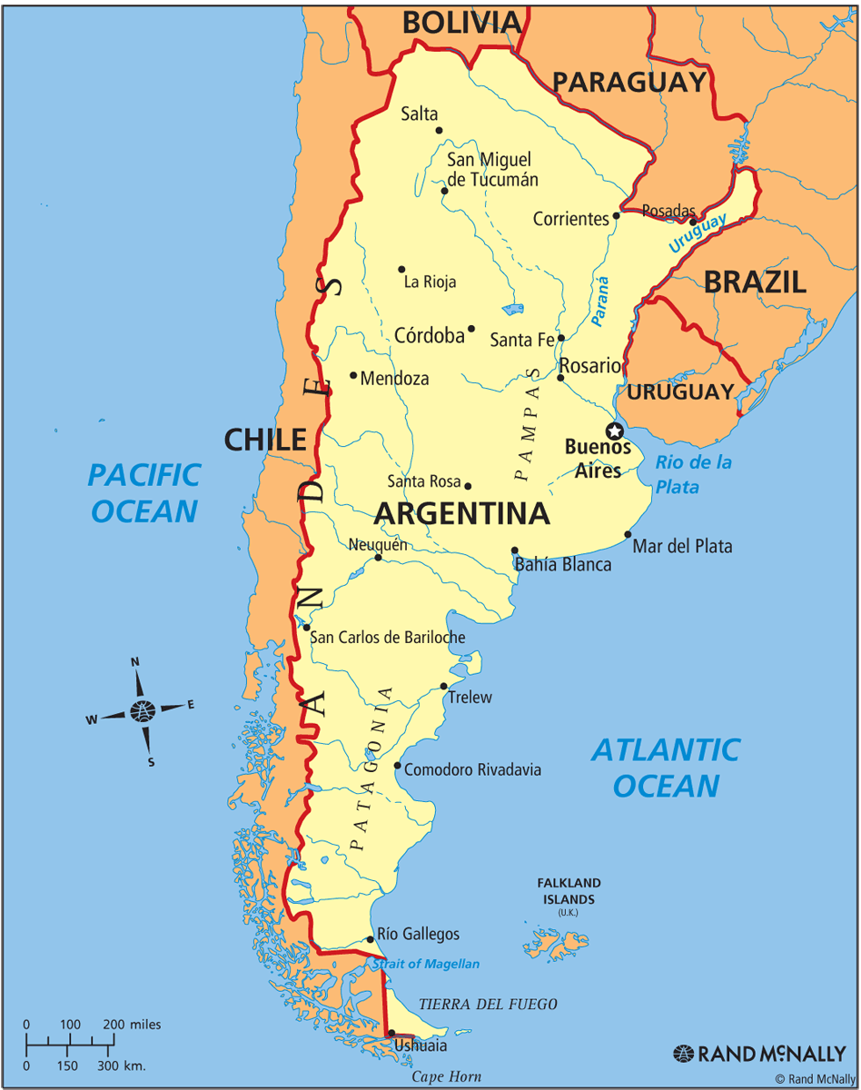 ARGENTINA MAP | IMAGE REAL