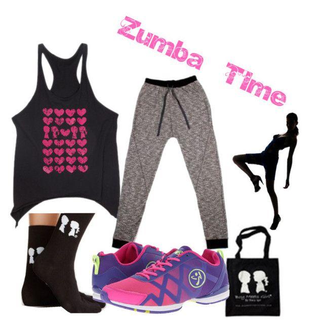 Zumba Time by boymeetsgirlusa on Polyvore featuring Zumba, Boy Meets Girl, boymeetsgirl and boymeetsgirlusa