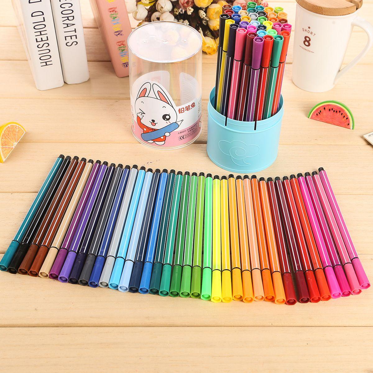 36 colorset can water wash watercolor pen children