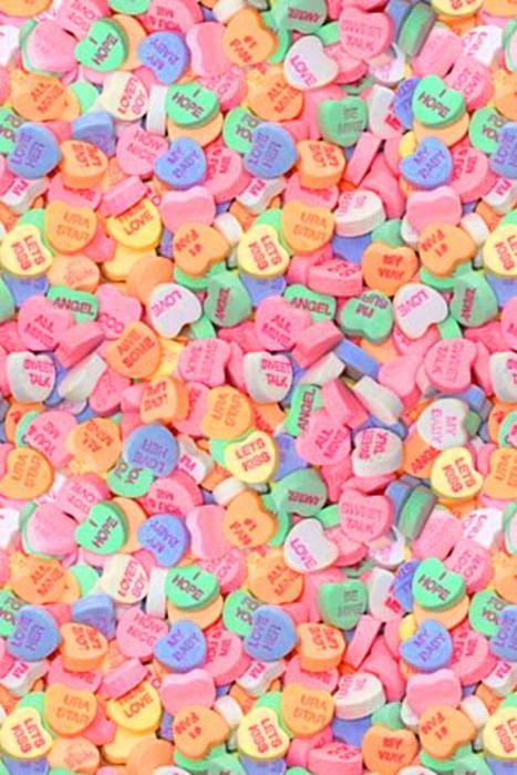 Notes And Signs Valentines Wallpaper Sweetheart Candy Valentine Background