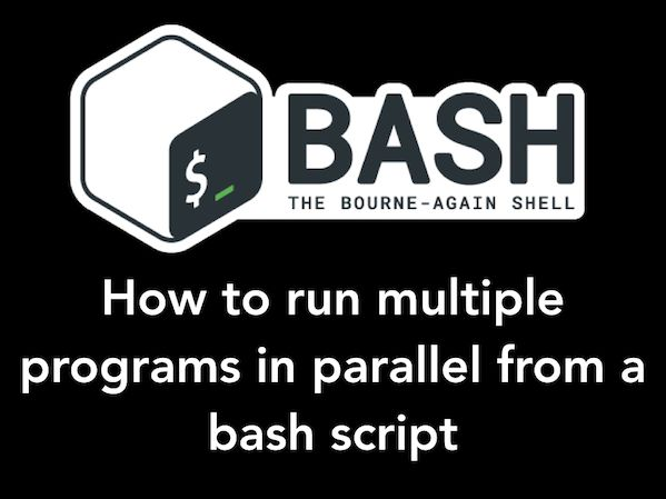 Explains How To Run Commands Or Code In Background In A Bash Shell Script Under Linux Or Unix Like System Linux Shell Linux Unix Programming