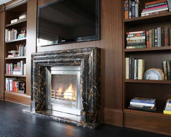 Ventless Fireplaces An Innovative Way To Warm Up The Atmosphere Freshome Com Ventless Fireplace Fireplace Fireplace With Cabinets
