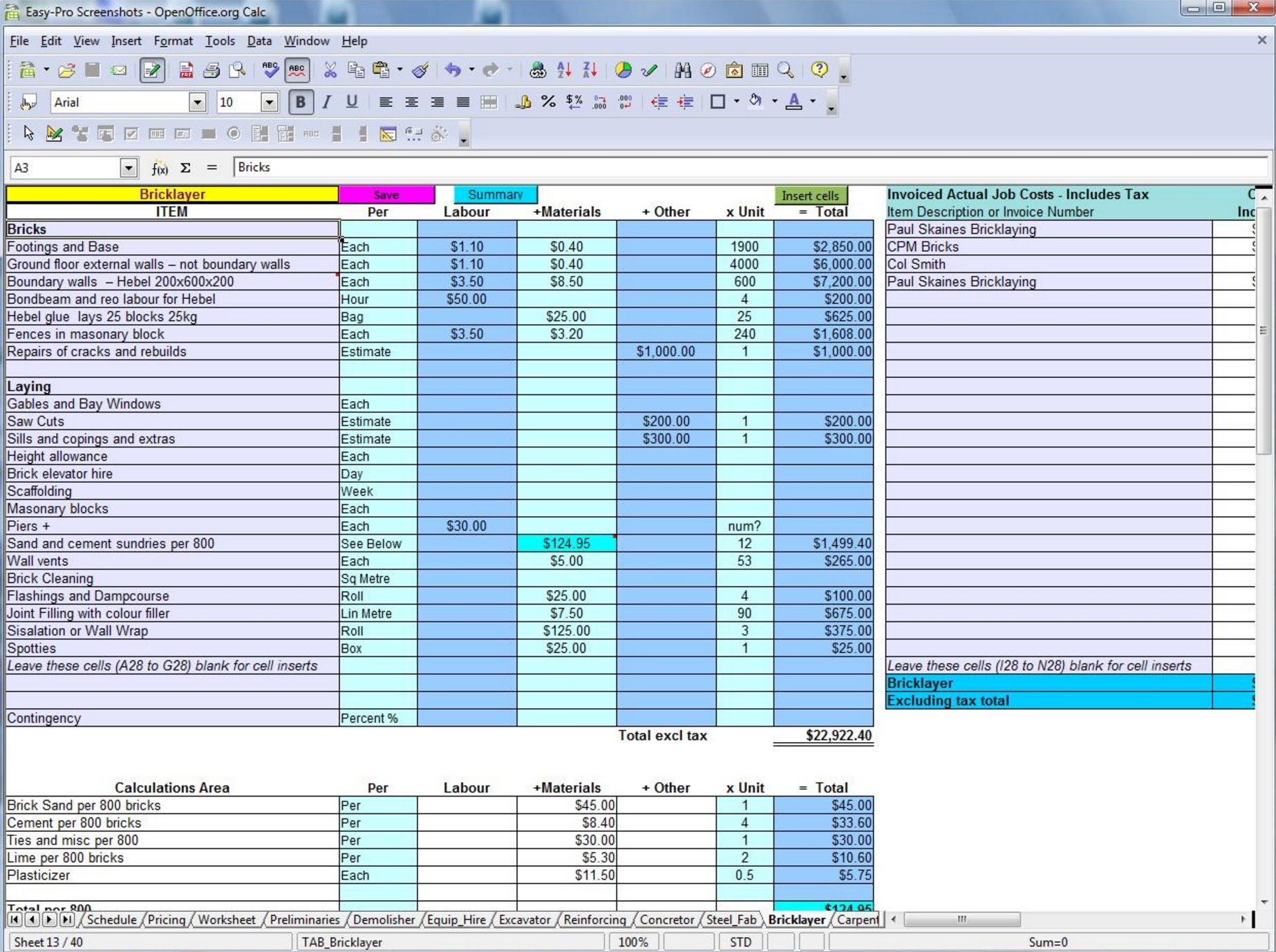 Free Residential Construction Estimating Spreadsheets For Most Homeowners Construction Construction Estimating Software Spreadsheet Template Estimate Template Construction cost estimate template excel