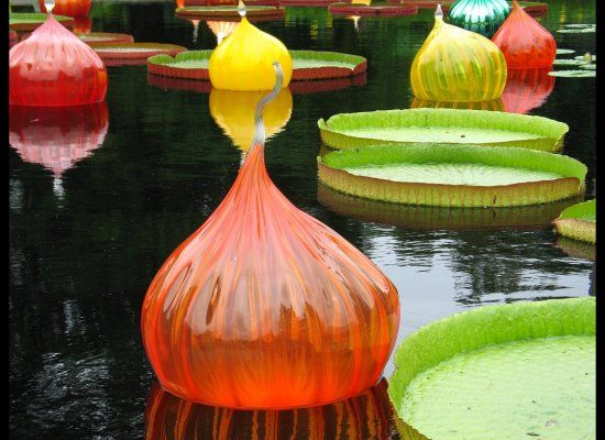 """""""Chihuly Garden and Glass"""" will open in the Spring of 2012 at the Seattle Center with 4500 sculpture installations."""