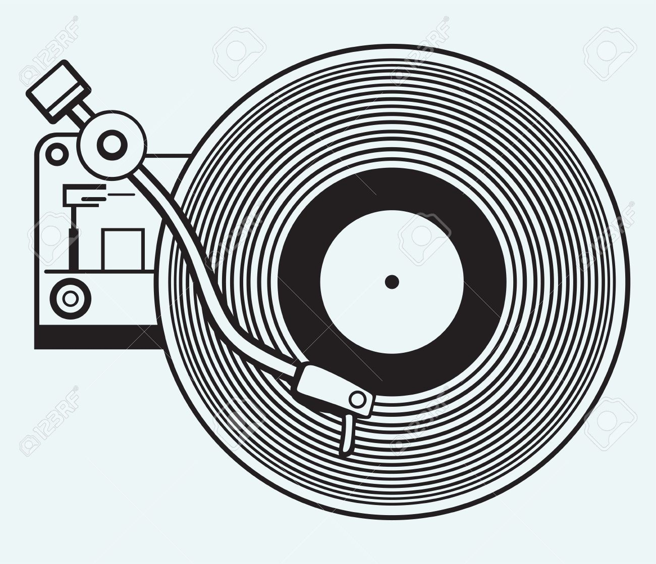 record player silhouette Google Search Vinyl record