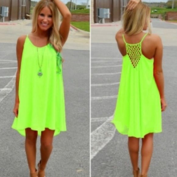 Racerback summer dresses
