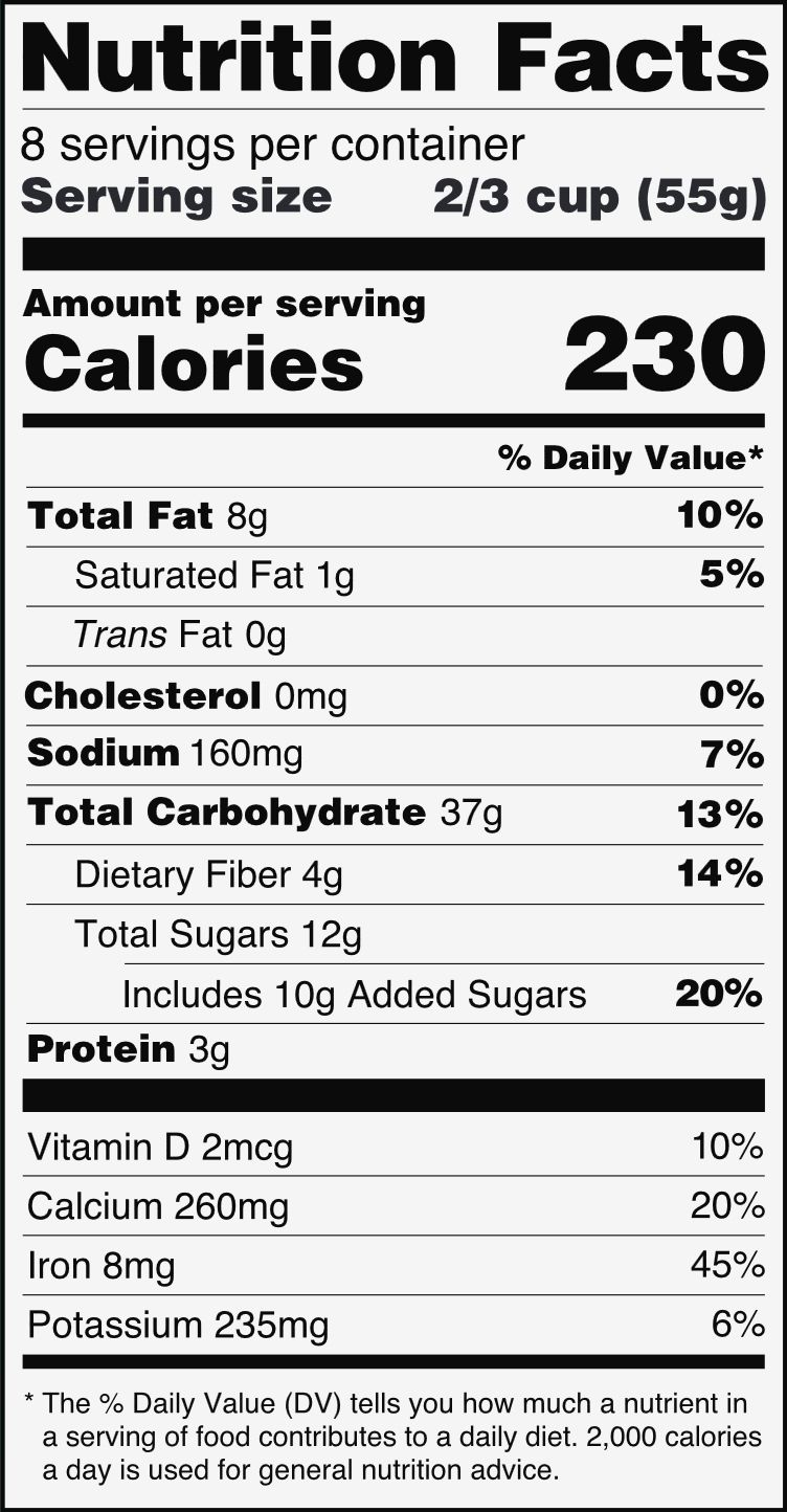 nutrition facts label | pinterest | organic ghee, nutrition and