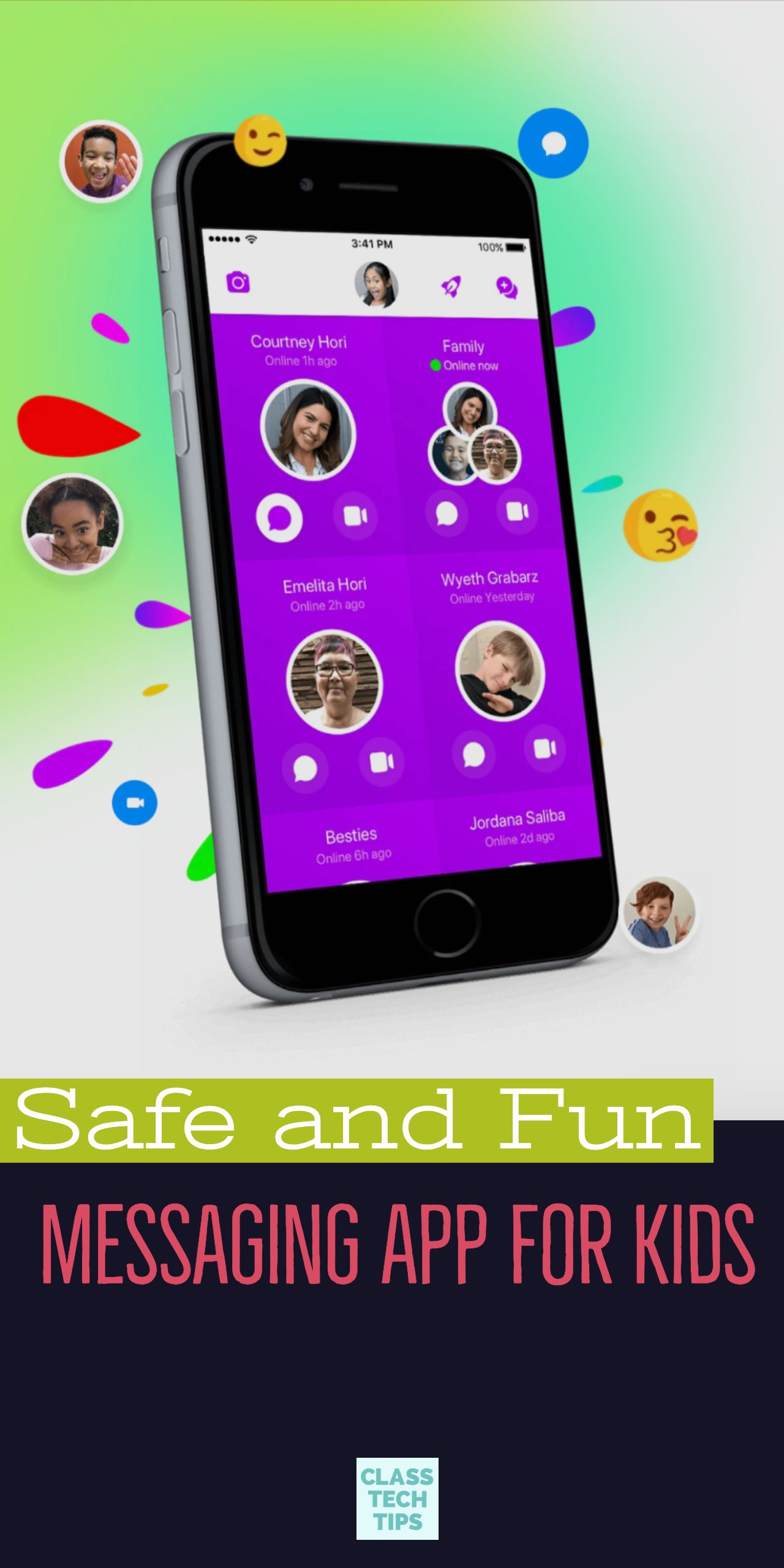 Safe and Fun Messaging App for Kids Learning apps, Kids