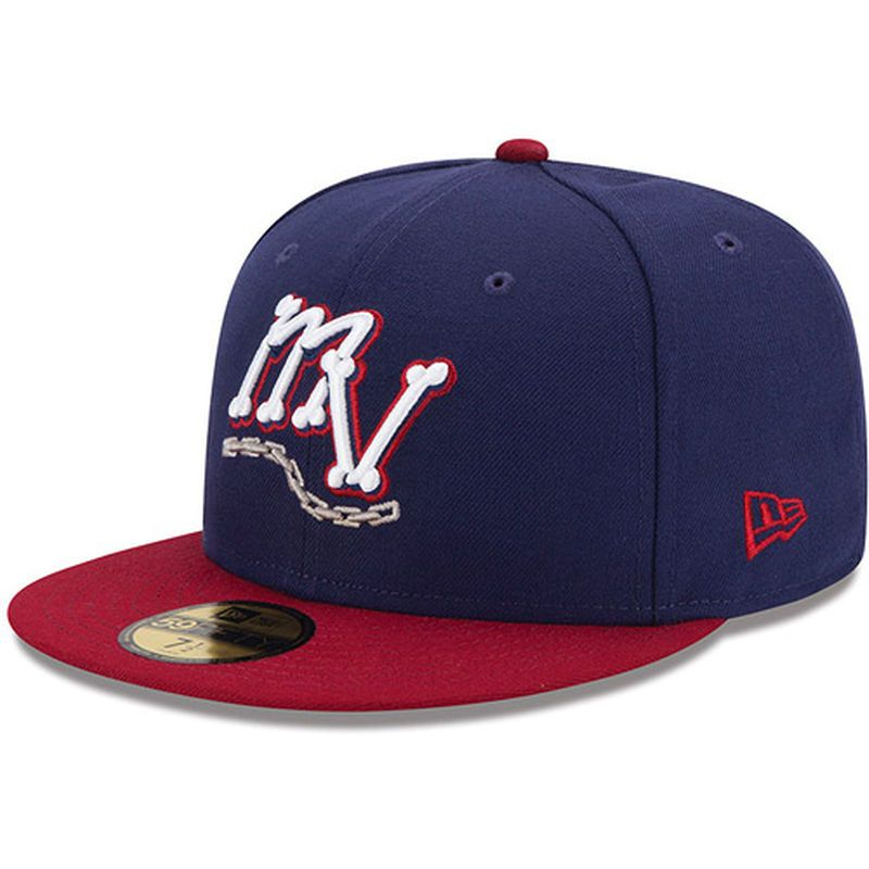 Mahoning Valley Scrappers New Era Authentic Collection On