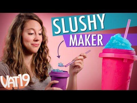 Slushy Maker Create Your Own Slushy In Less Than A Minute Slushies Slushy Maker Favorite Drinks