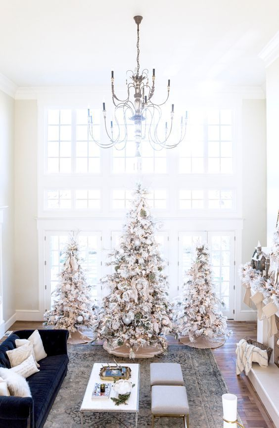 A Winter White Christmas by Rach Parcell #homeimprovementseason7
