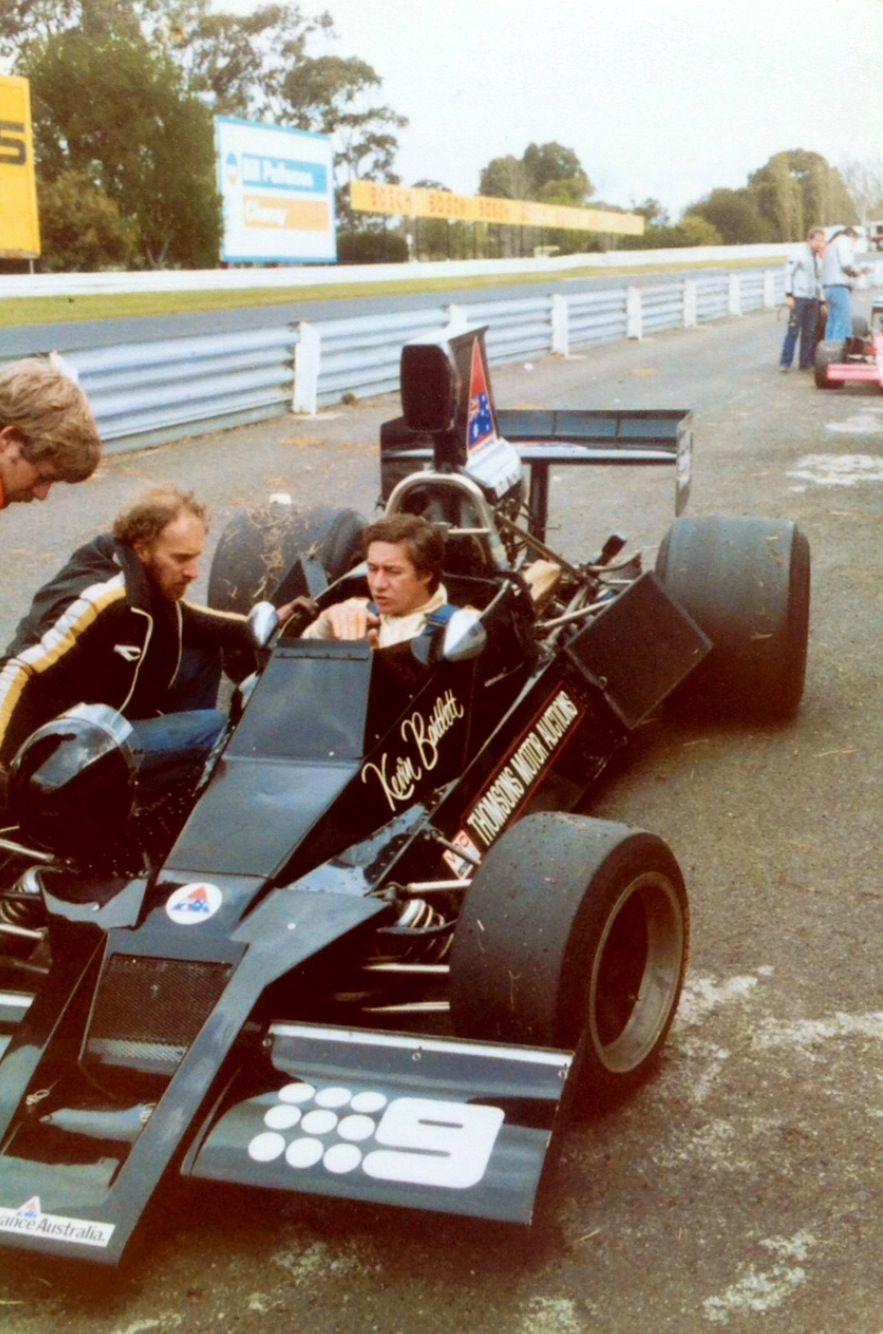 Kevin Bartlett, Brabham BT43 Chev, Sandown 1979...(Mark Bisset)