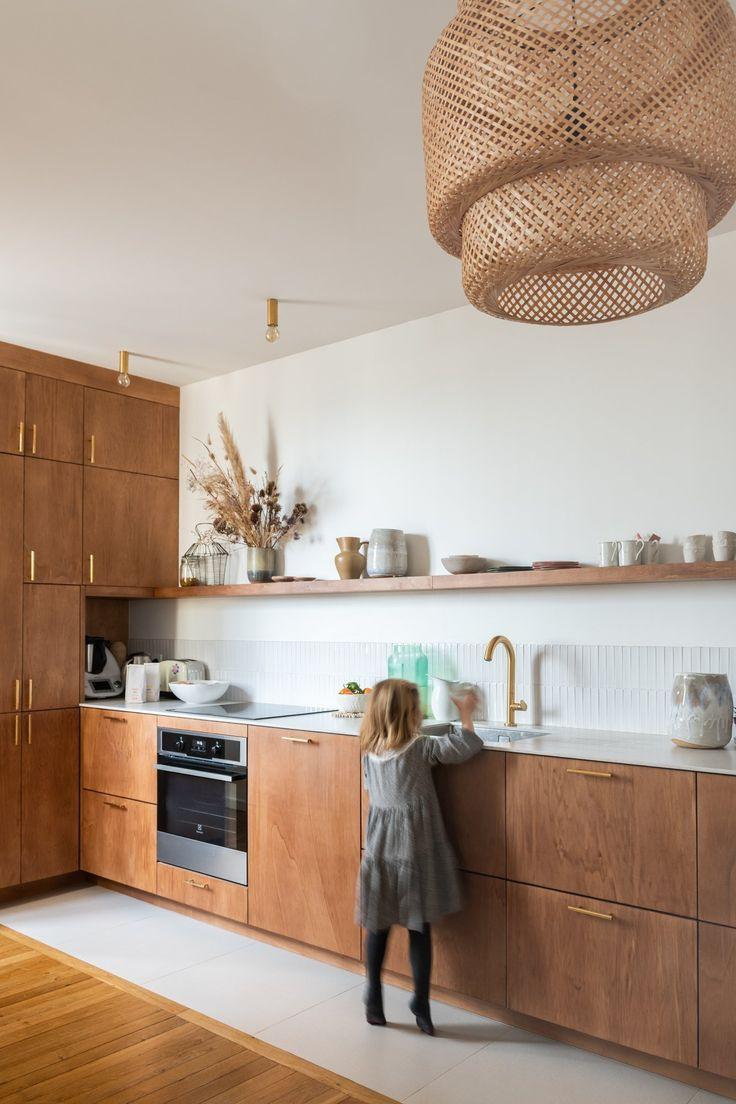 Epingle Par Emeline Payet Sur Cuisine New Home En 2020 Cuisine Bois Interieur Moderne De Cuisine Deco Maison Design
