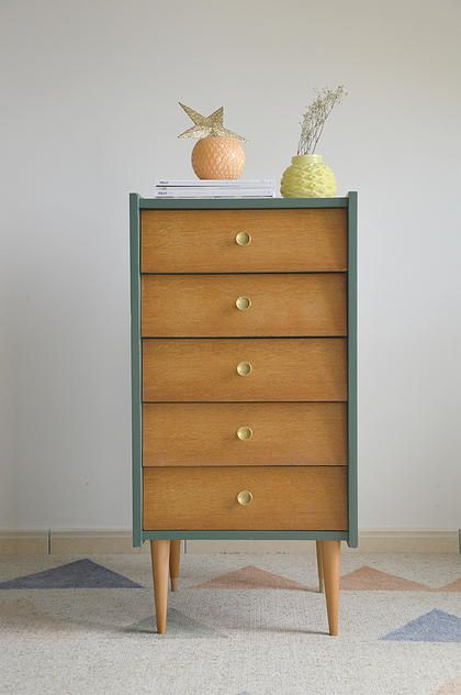 commode ann es 50 desamble home pinterest commodes ann es 50 et annee. Black Bedroom Furniture Sets. Home Design Ideas