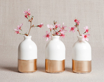 Amelie on Etsy Home decor sets, Wooden vase, Flower vases