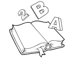 Resultado De Imagen Para Utiles Escolares Para Colorear Dibujos De Libros Animados Libros Para Colorear Dibujo Libro Abierto