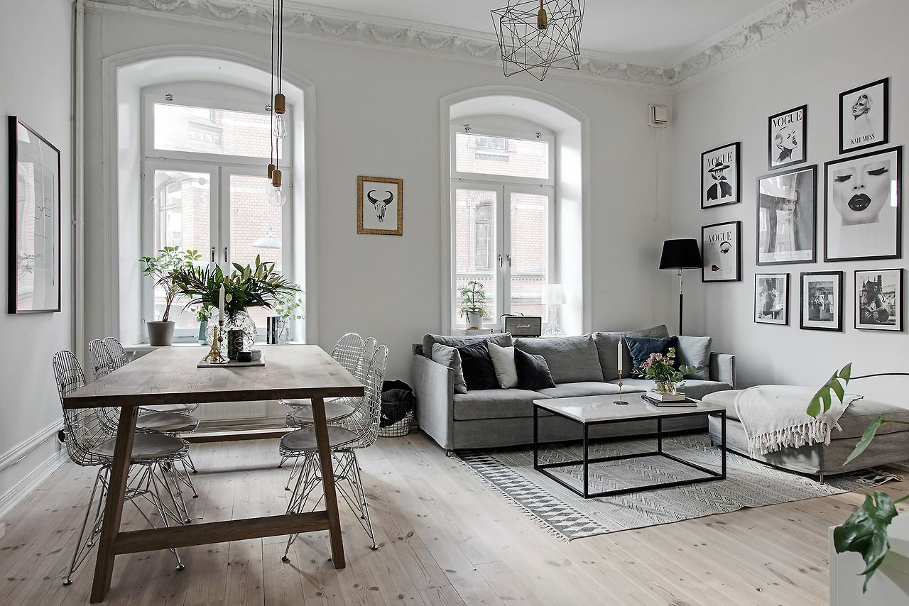 Scandinavian Style Apartment Living Room Scandinavian Scandi Living Room Apartment Decor