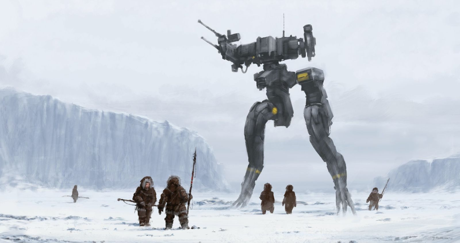 All Metal Gear Solid Movie Concept Art