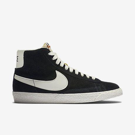 Nike Blazer Mid Suede Vintage Baskets Femmes Noires clairance excellente ordre de vente wiki jeu authentique D8QFAy