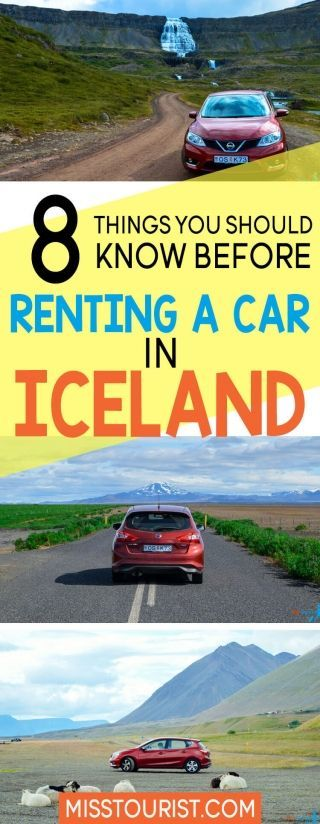 8 Things You Should Know Before Renting a Car in Iceland I have put together a guide on how to rent a car, which type of car you should choose depending on your trip and activates. Things You Should Know Before Renting a Car in Iceland I have put together a guide on how to rent a car, which type of car you should choose depending on your trip and activates.I have put together a guide on how to rent a car, which type of car you should choose depending on your trip and activates.