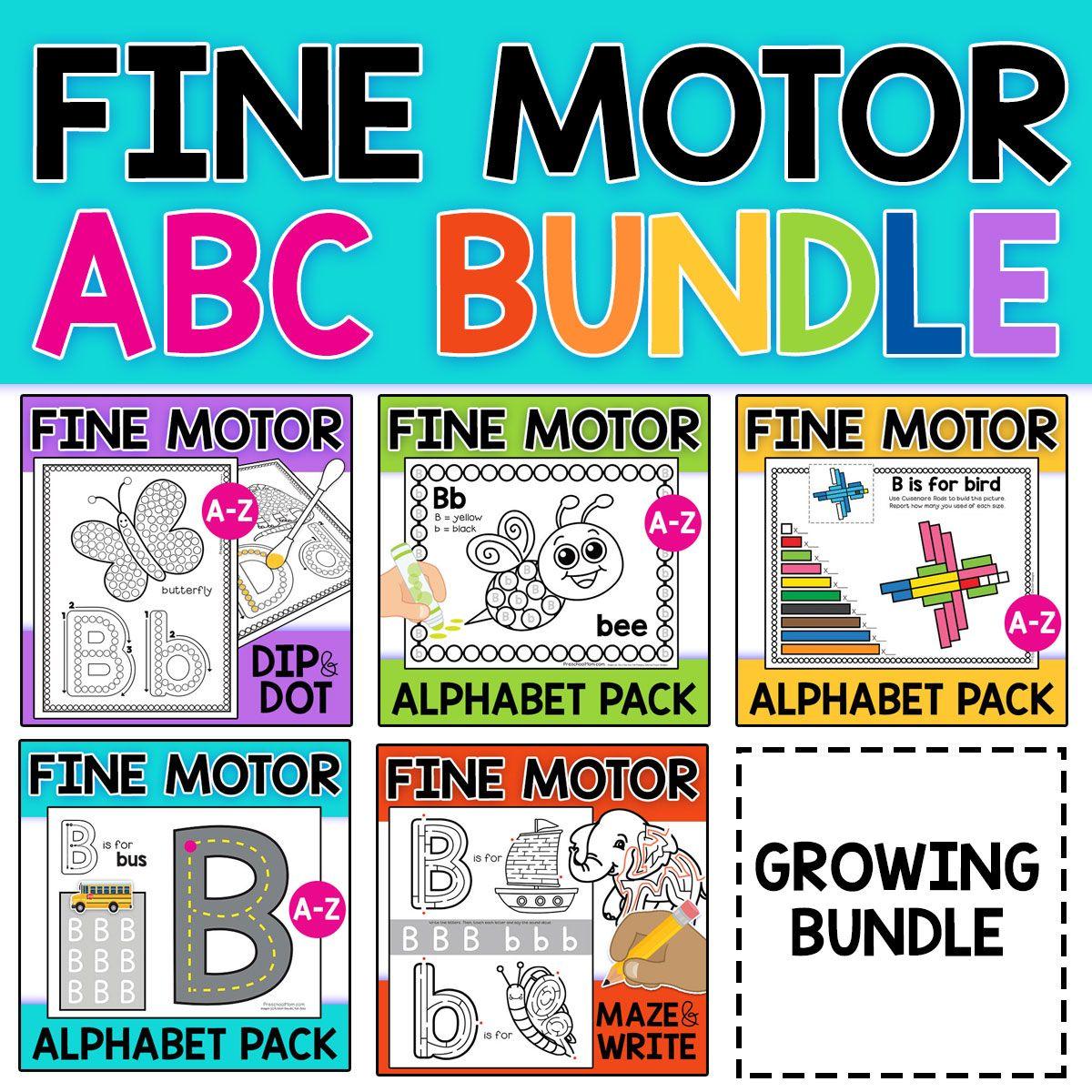 Fine Motor Alphabet Bundle