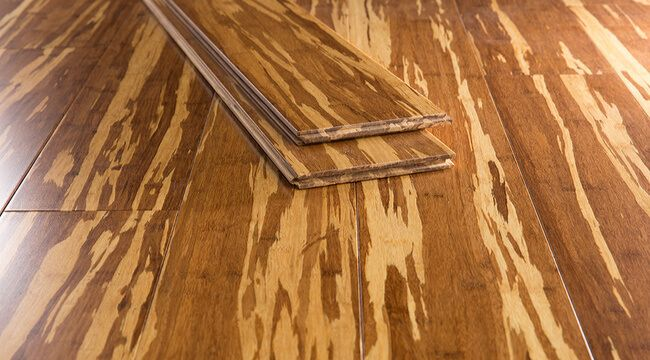 Tiger Marbled Strand Bamboo Flooring Wood Floors Wide Plank Bamboo Flooring Strand Bamboo Flooring