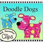 Clip Art ~ Doodle Dogs