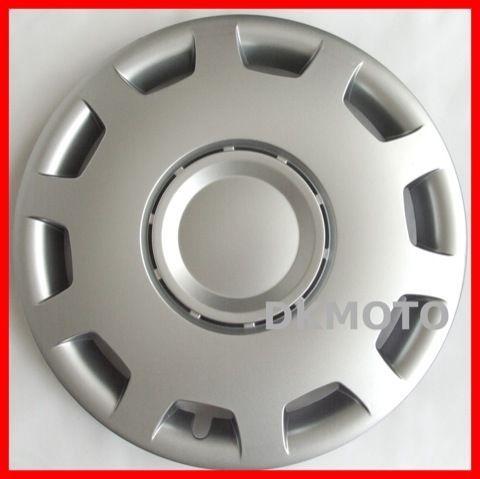 Hub Caps X Wheel Trims For Ford Ka Fiesta Focus Fusion Silver