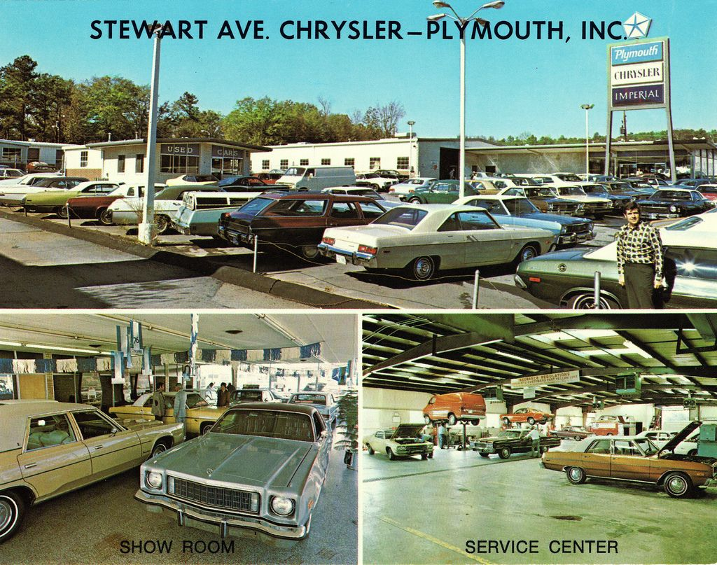 1976 Stewart Avenue Chrysler Plymouth Dealership Atlanta Georgia Plymouth Chrysler Atlanta