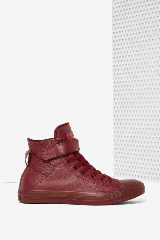 Converse Chuck Taylor Brea Leather Sneaker  190849c18