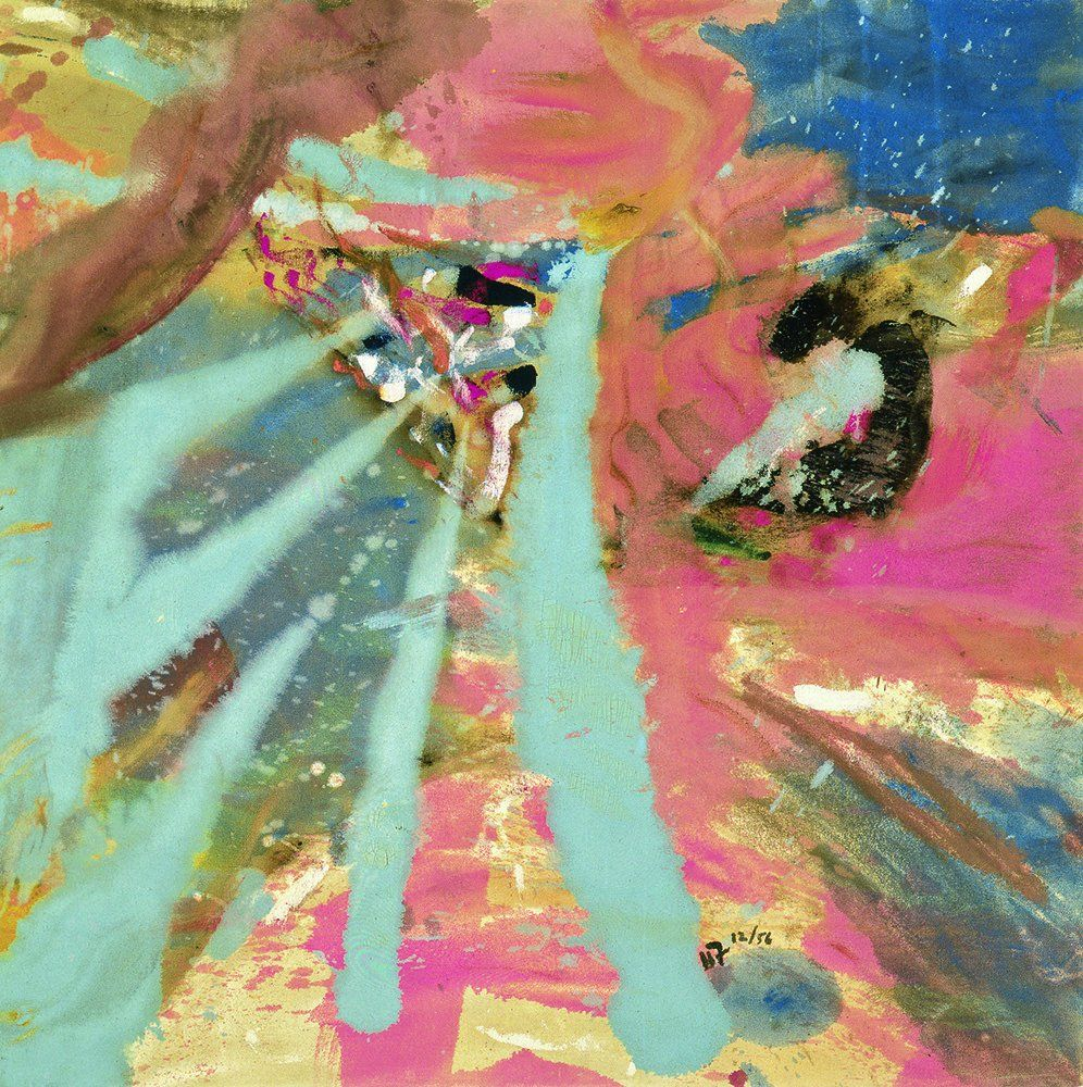 US Abstract expressionist painter Helen Frankenthaler