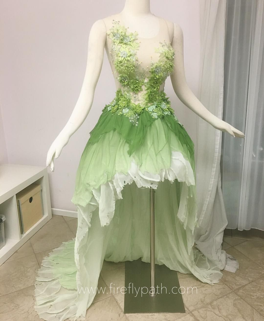 Work in progress for our customers Tinkerbell Gown Heavily inspired ...