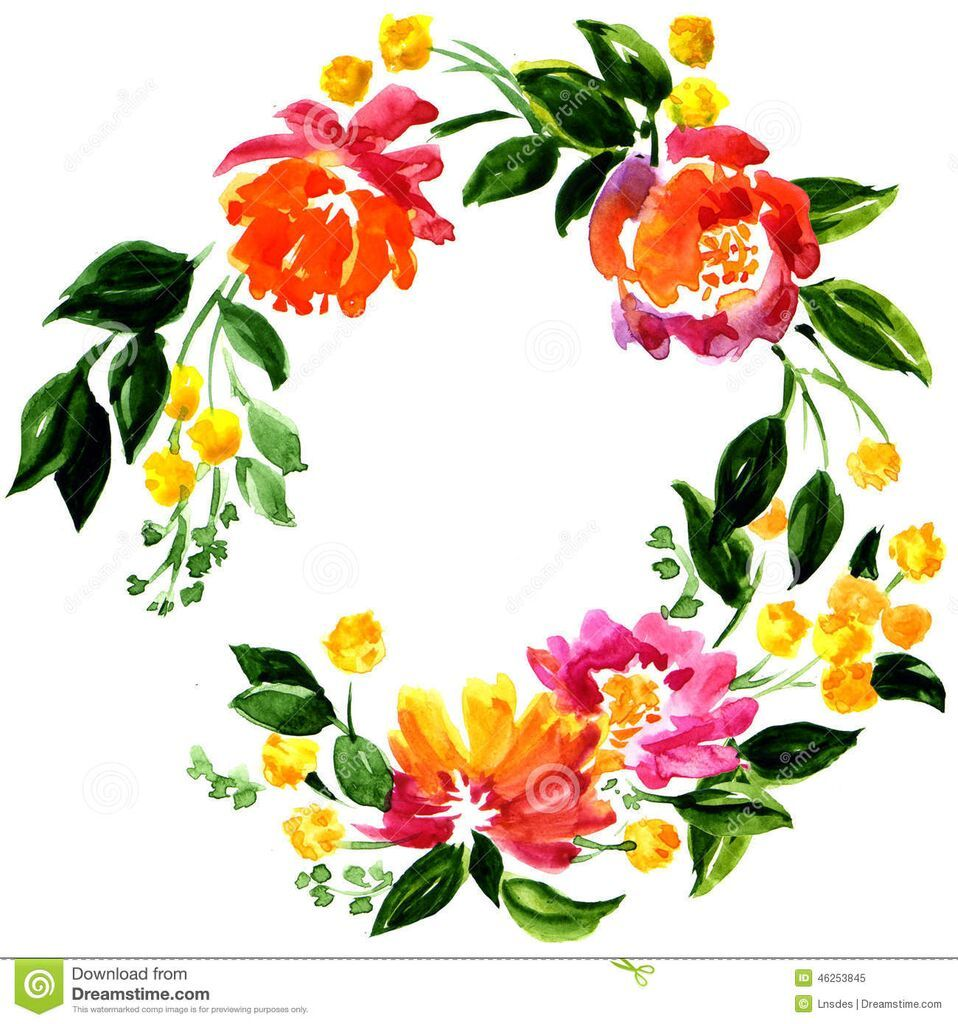 Dropbox beautiful greeting card floral wreath watercolor dropbox beautiful greeting card floral wreath watercolor painting kristyandbryce Gallery