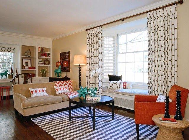 salones diseño de cortinas modernas. 640×475 píxeles
