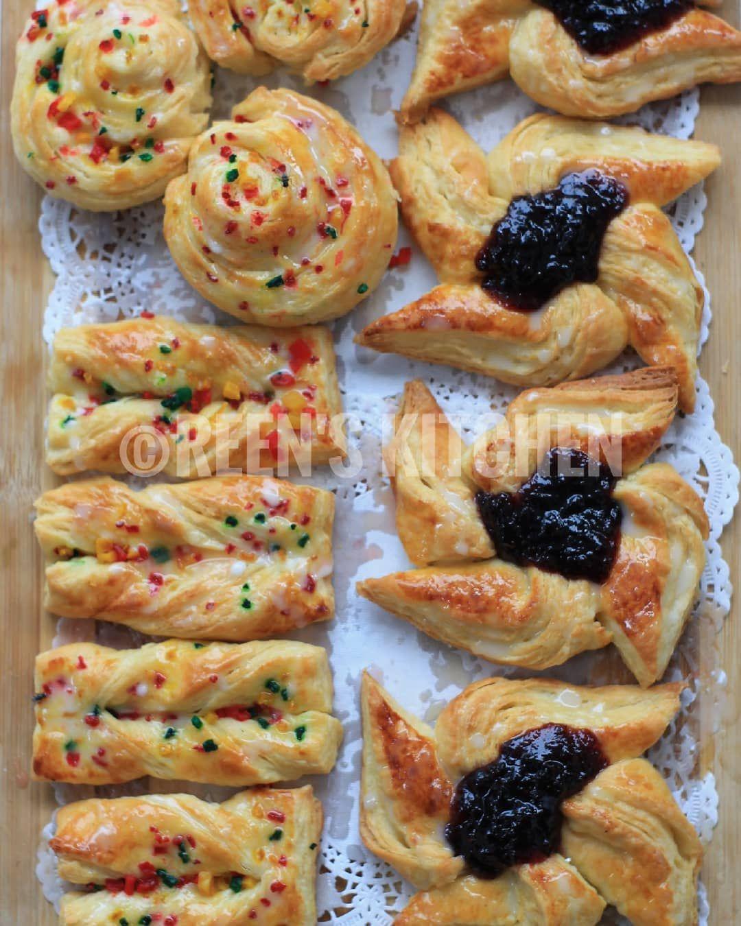 2 480 Likes 54 Comments Reen S Kitchen Ms Rinadedik On Instagram Danish Pastry Tutorial Rinadedik Tutorialdanishpastry Ini Bukan Food Roti Breakfast