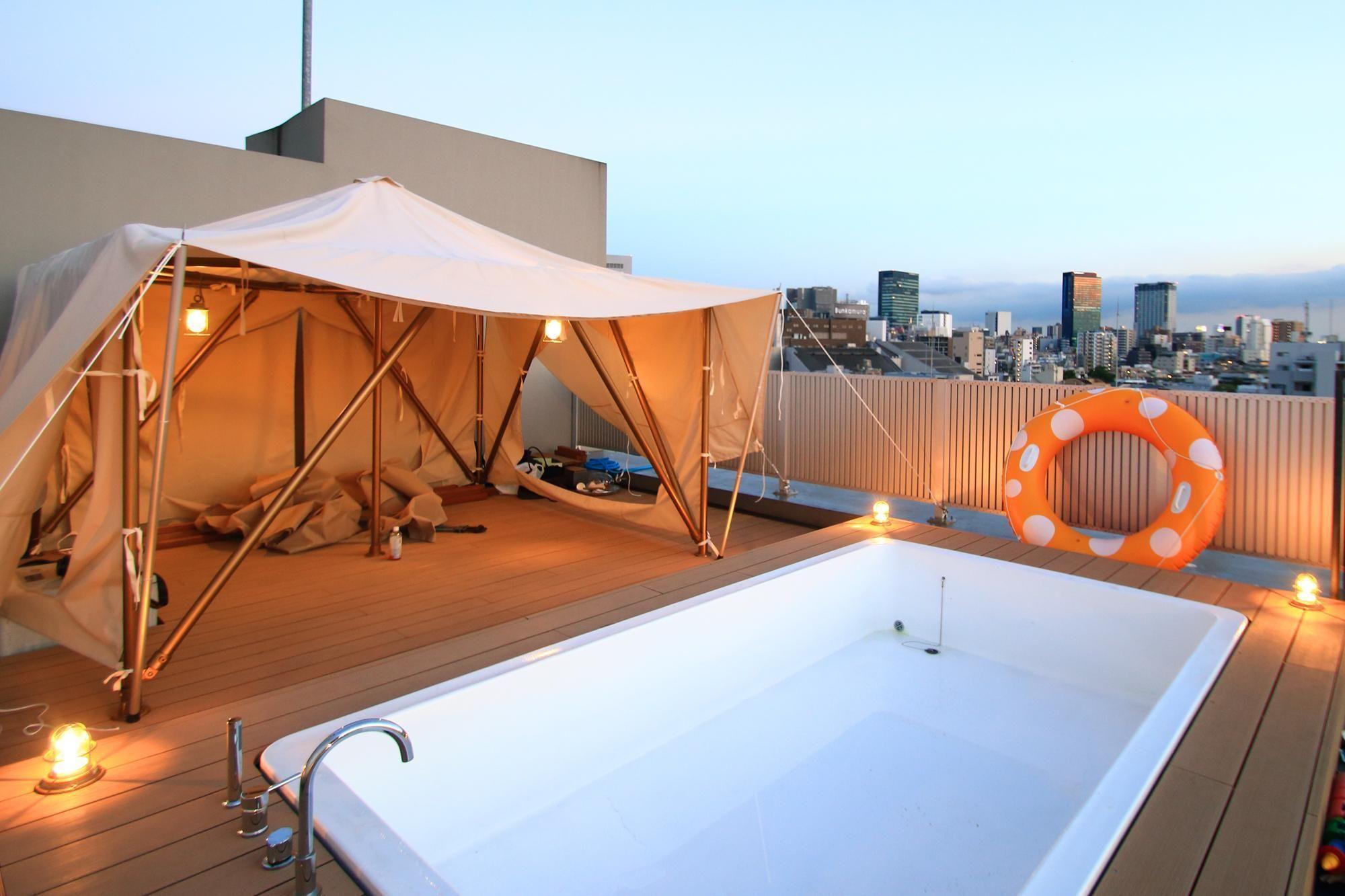 470万円で実現した贅沢 都心のど真ん中にある屋上テラスがグラン