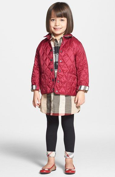 Mini Pirmont' Quilted Jacket | Quilted jacket and Products : burberry kids quilted jacket - Adamdwight.com