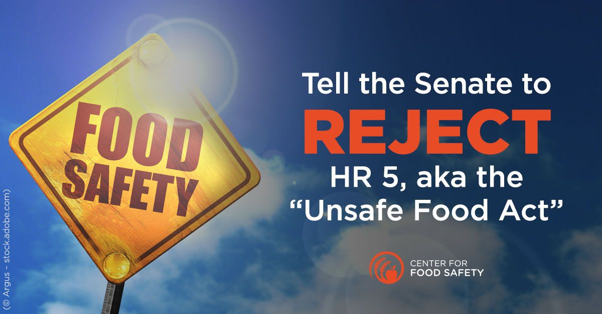 Center for Food Safety Take Action Food safety, Food