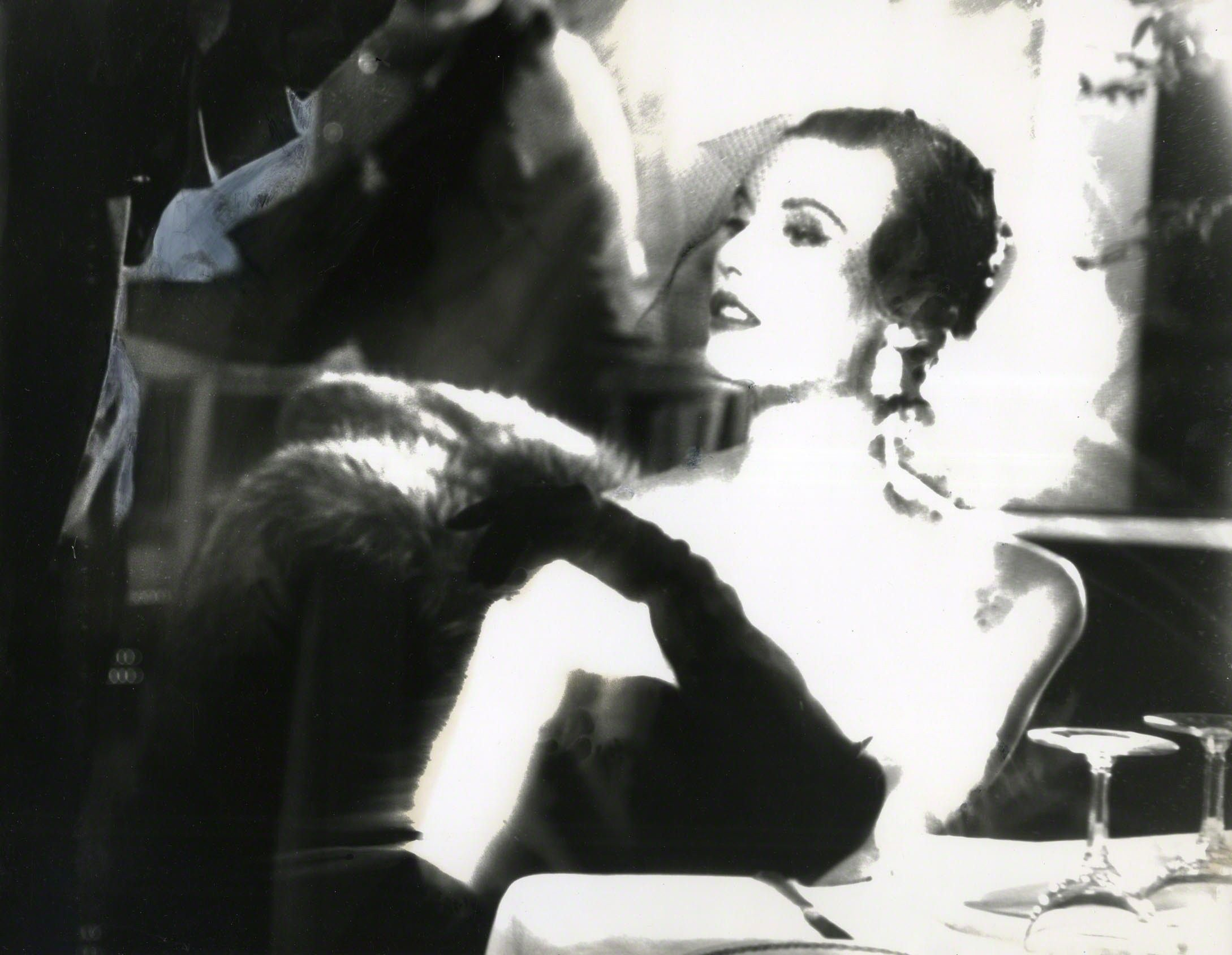 Lillian Bassman, 'Looking Backward - The Evenings Ahead, Betty Biehn', 1956, Edwynn Houk Gallery | Artsy