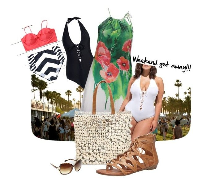 """""""Weekend get away!!!"""" by cheryl-linn-cardinale ❤ liked on Polyvore featuring Poliana Plus, Ashley Graham and Avenue"""