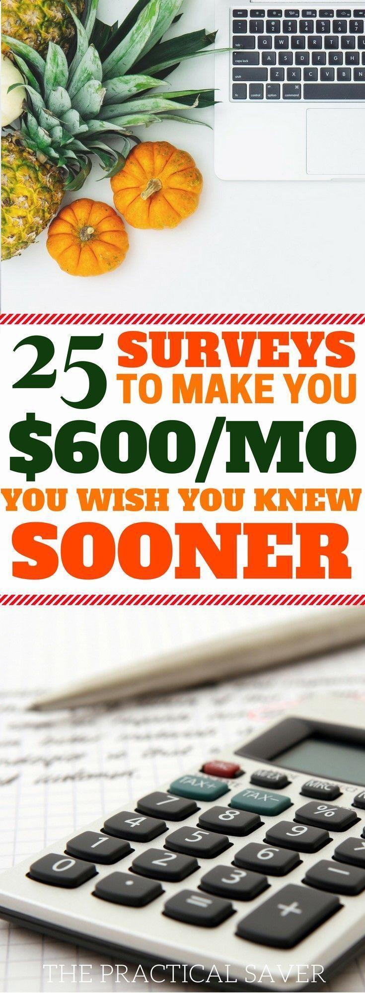 survey sites l passive income ideas l side hustles l work from home