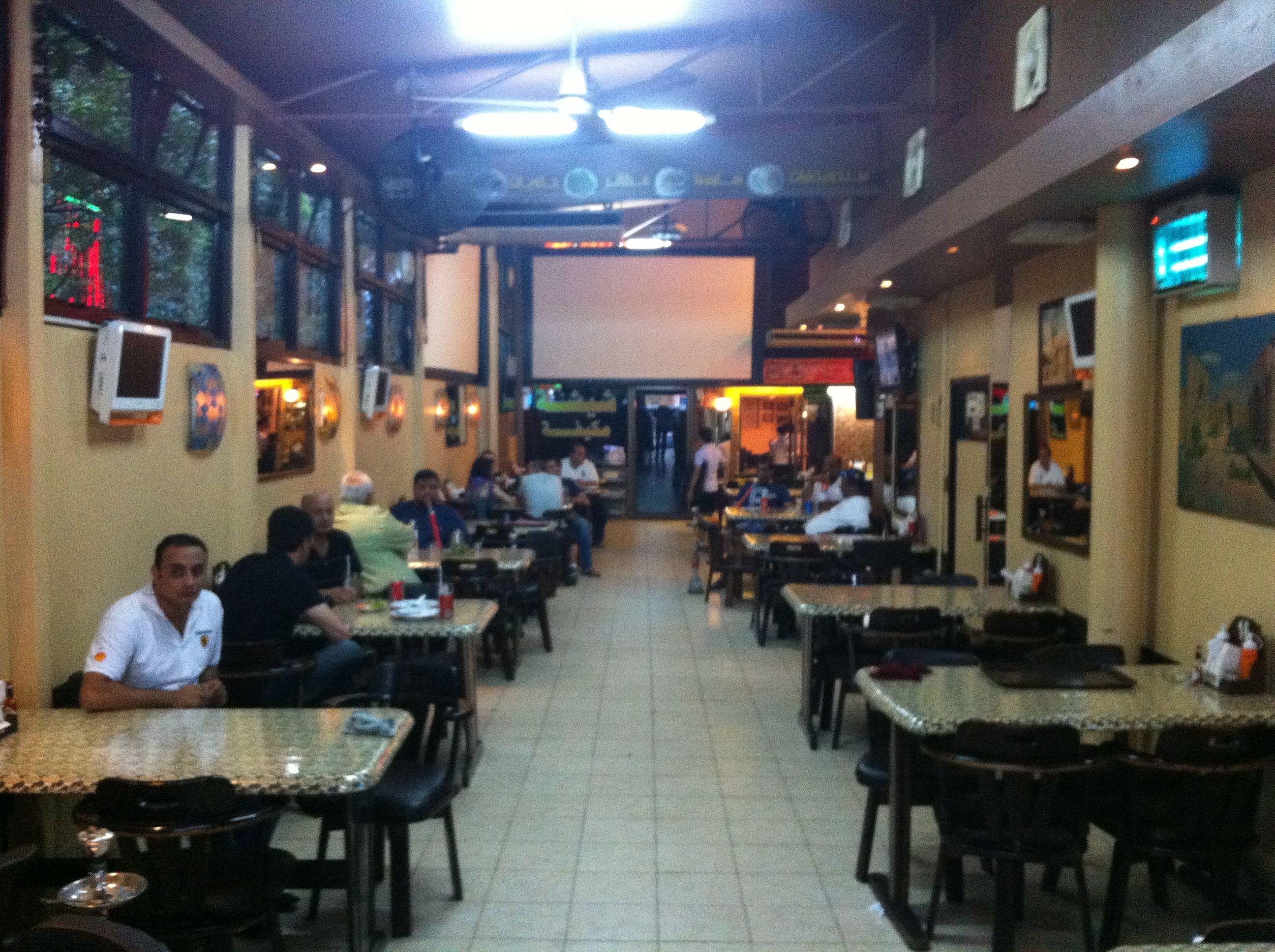 inside of arabic restaurant bamboo bar in bangkok on sukhumvit soi