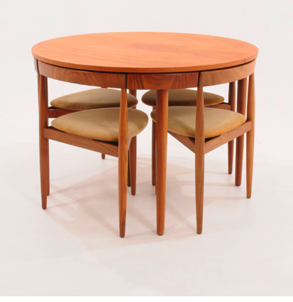 Hans Olsen Compact Dining Table Chairs Compact Dining Table