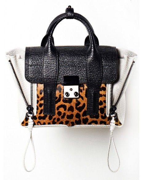 3 1 Phillip Lim Leopard Pashli Bag сумки модные брендовые Bloghandbags Blo