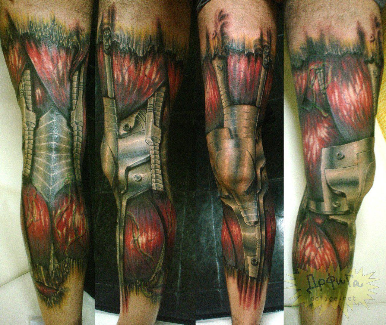 bio mech tattoo Biomechanical tattoo, Tattoos